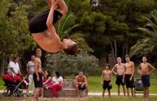 Salts acrobatics al riu