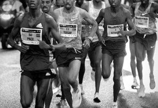 Marató km 30, els primers